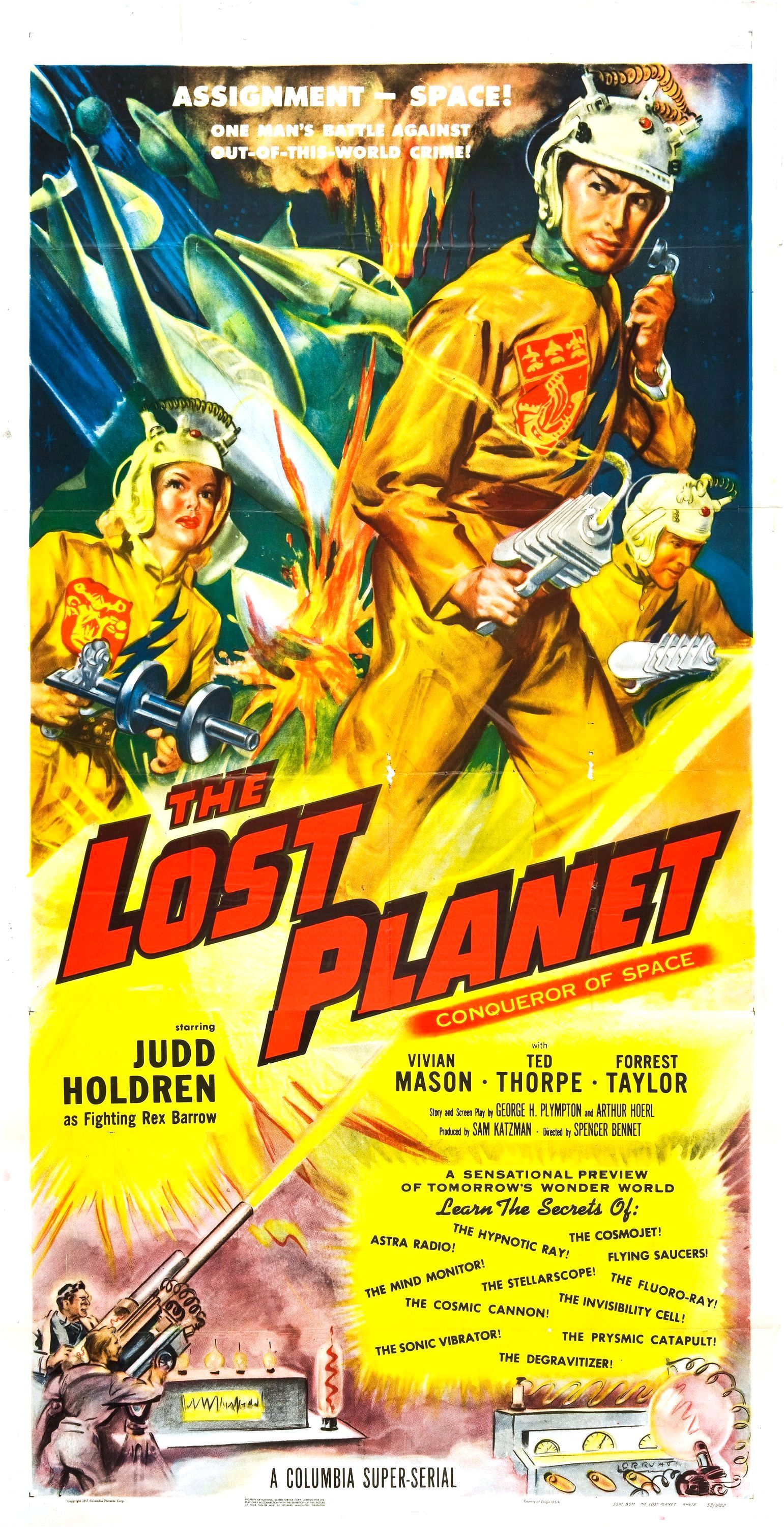The Lost Planet (1953)
