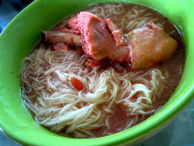 Mee sua in ang chiew ginger chicken soup 1