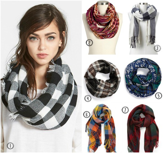 Hi Sugarplum | Plaid Scarves