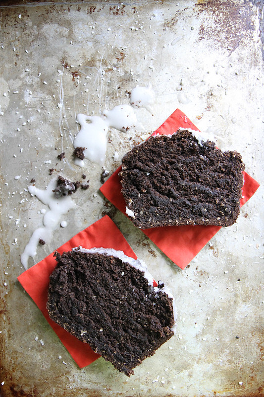 Chocolate Pumpkin Coconut Bread