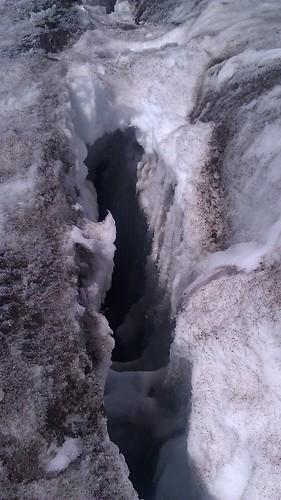 Crevasse Mount Rainier