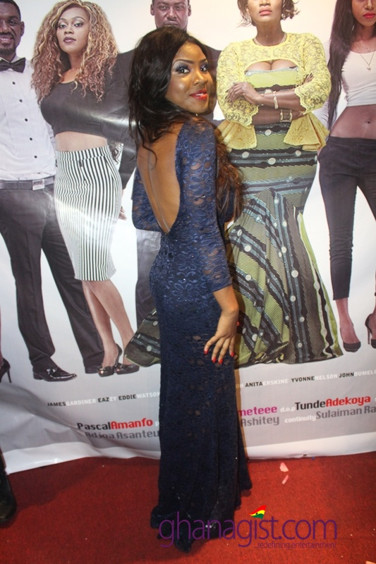 Actress Priscilla Mawuena