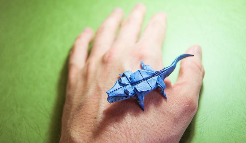 Origami Crocodile - John Montroll