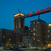 St. Paul, MN. The brewery has been renovated and converted to artist lofts. This has become a popular destination for photographers since the iconic sign was once again lit, so I had to get out and take a blue hour shot at it.