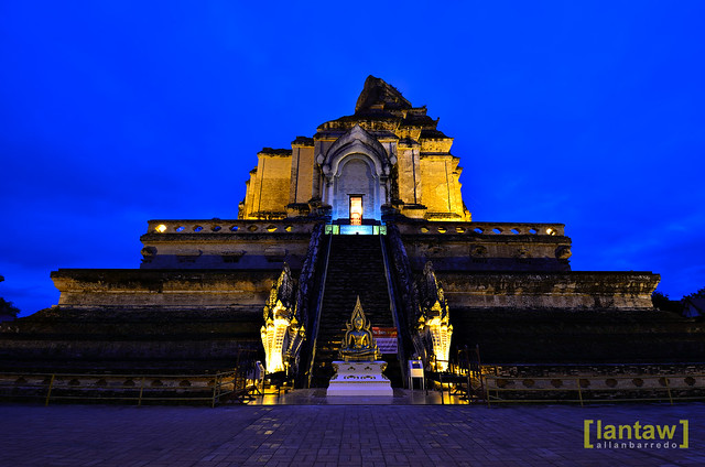 Chedi Luang at dawn