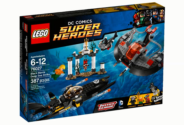 LEGO Super Heroes DC Comics 76027 - Black Manta Deep Sea Strike
