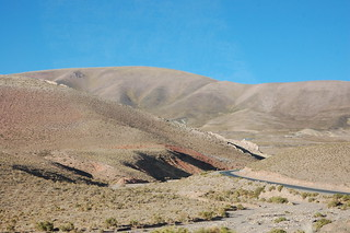 Views from the Bus Ride Between San Pedro de Atacama, Chile and Salta, Argentina