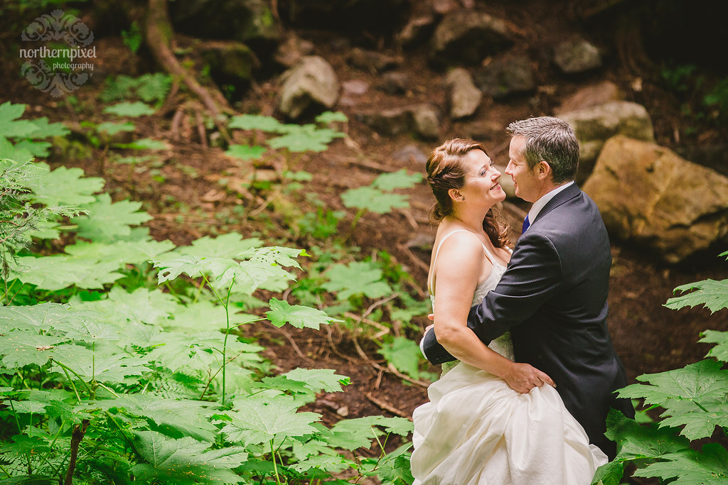 Wedding Photography at the Ancient Forest near Prince George BC