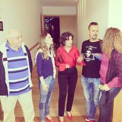Papo depois da peça #TôGrávida #BlogAuroradeCinemaindica @roseiramur @ferodriguesoficial