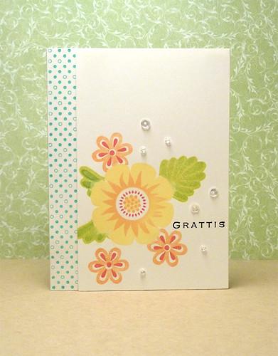 Gratulation card #272