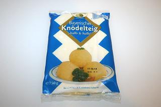 01 - Zutat Kartoffelknödel-Teig / Ingredient dumpling dough
