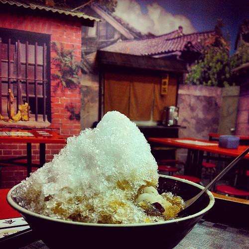 台灣味的甜品  #台灣  #Taiwan #ice #dessert  #food