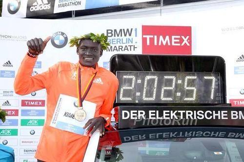 Kimetto nuevo record mundial en Maratón