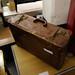 Old retro suitcase