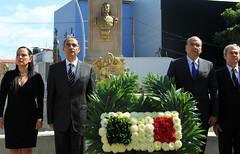 Gobierno de Oaxaca honra y rinde merecido homenaje al General Porfirio Díaz Mori, Oaxaca