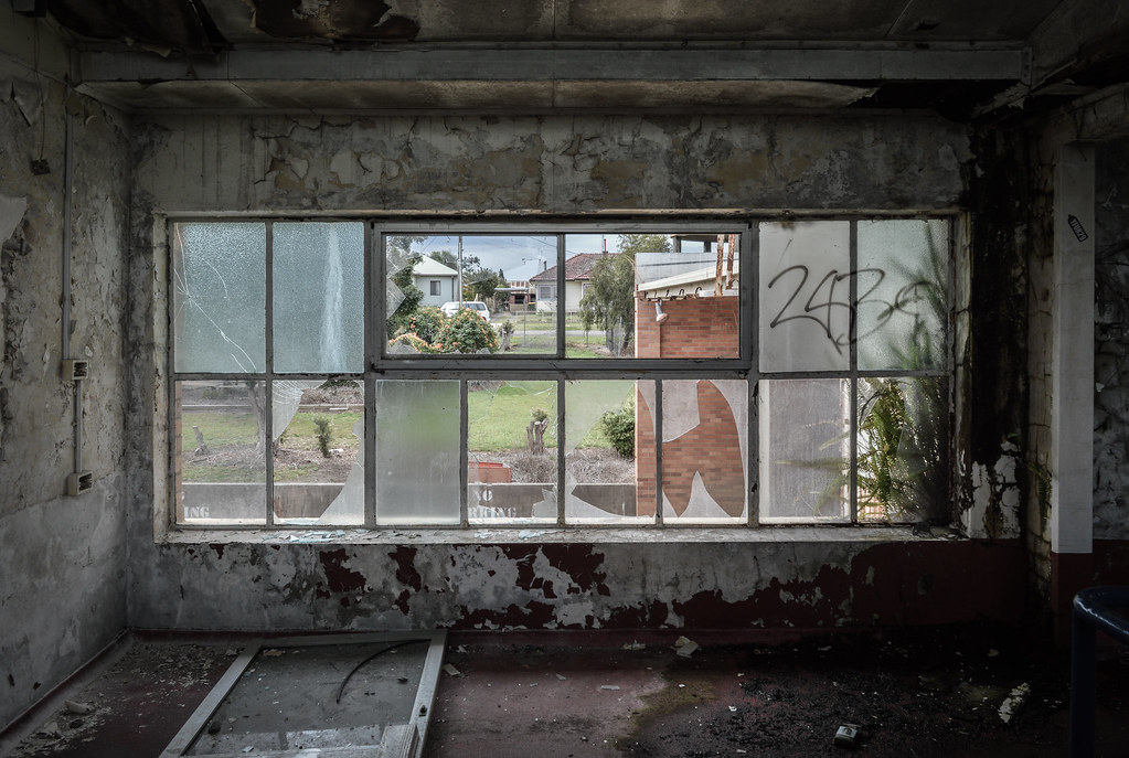 Old Peters Ice Cream factory in Taree Australia-4