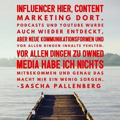 #Influencer hier, #ContentMarketing dort, aber wenig Konzepte für neue Kommunikationsformen https://ichsagmal.com/2017/03/14/jetzt-live-plattform-journalismus-sxsw17-ruhrnalist-schnodderpepe-und-mehr/