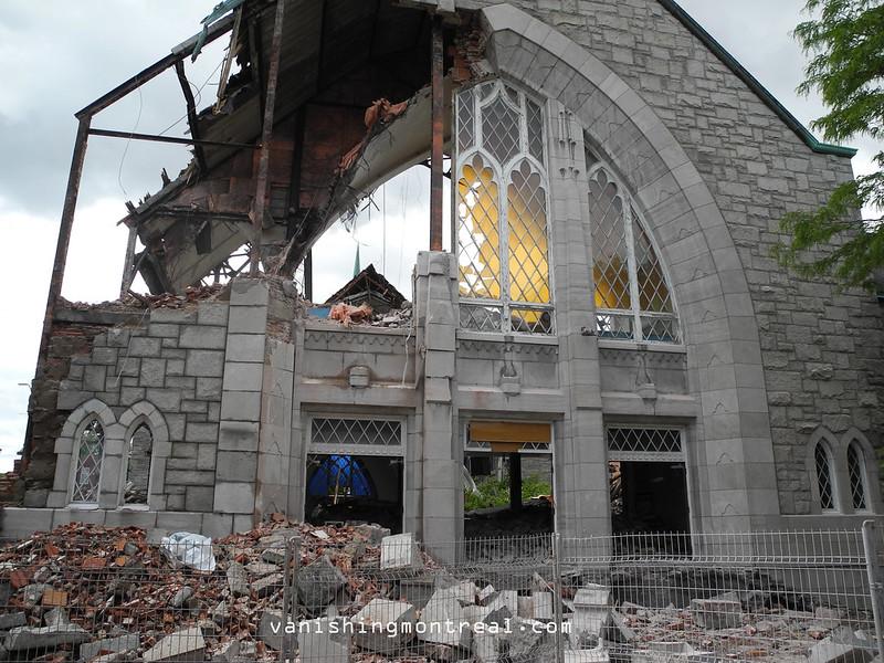 Eglise Notre-Dame-de-la-Paix demolition 6/06/14 07