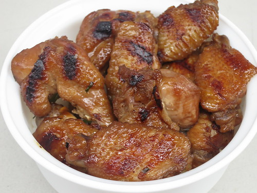 IMG_0118: DIY June 12 2014: Chicken Wings in Garlic Soy Sauce