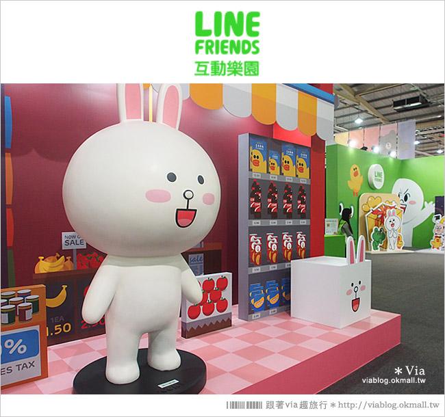 【台中line展2014】LINE台中展開幕囉!趕快來去LINE FRIENDS互動樂園玩耍去!(圖爆多)45