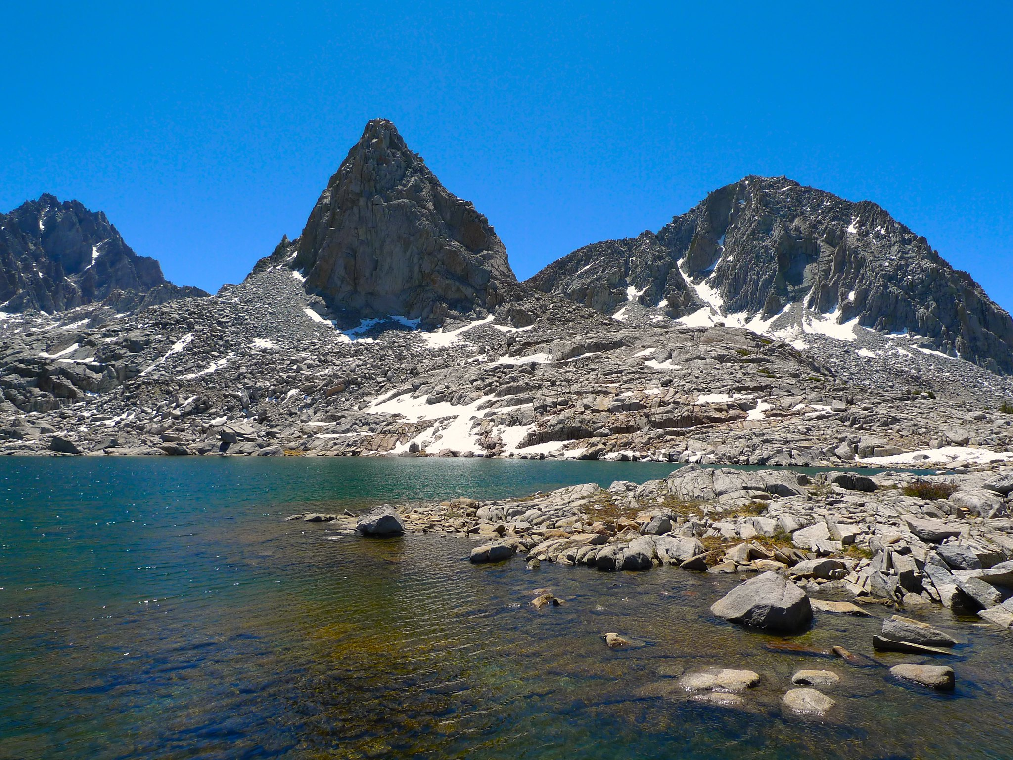 Isosceles Peak above Lake 11388
