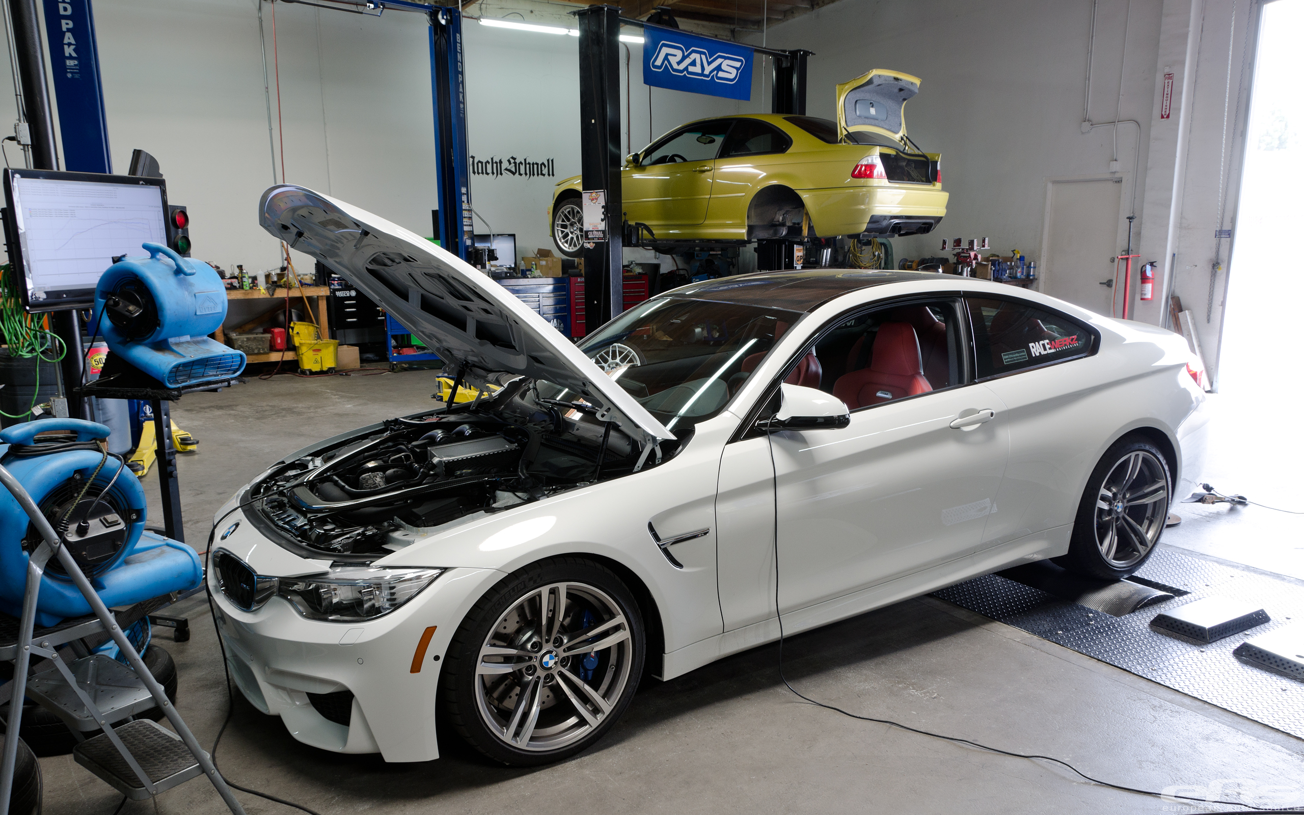 Mineral White M3 Alpine White M4 Bmw Performance Parts Services