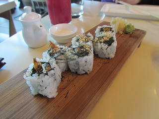 Sweet Potato Sushi at Departure
