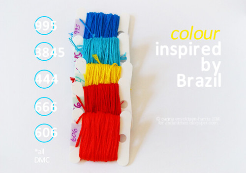 Colour Inspired by Brazil