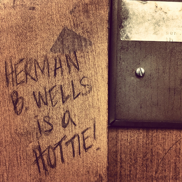 Graduate Carrel, Herman B Wells Library 9E