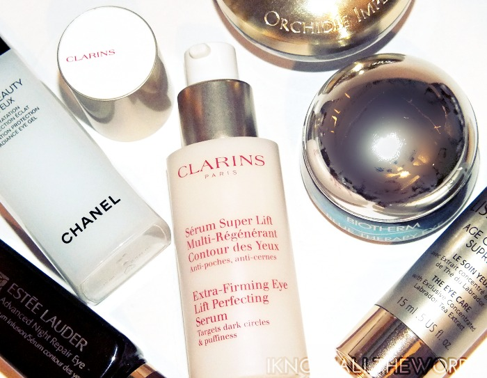 clarins extra firming eye lift perfecting serum
