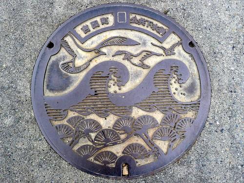 Yoshida Shizuoka, manhole cover (静岡県吉田町のマンホール)