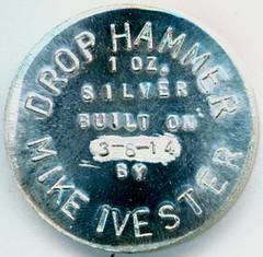 Drop Hammer coin reverse