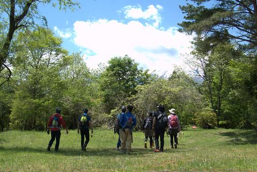 トレイルランナーのための自然教室