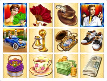 free Glitz & Glamour slot game symbols