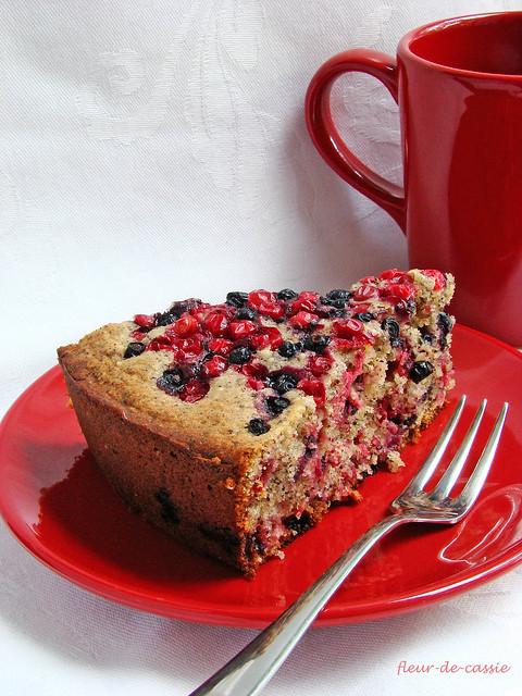 ягодно-маковый пирог 2