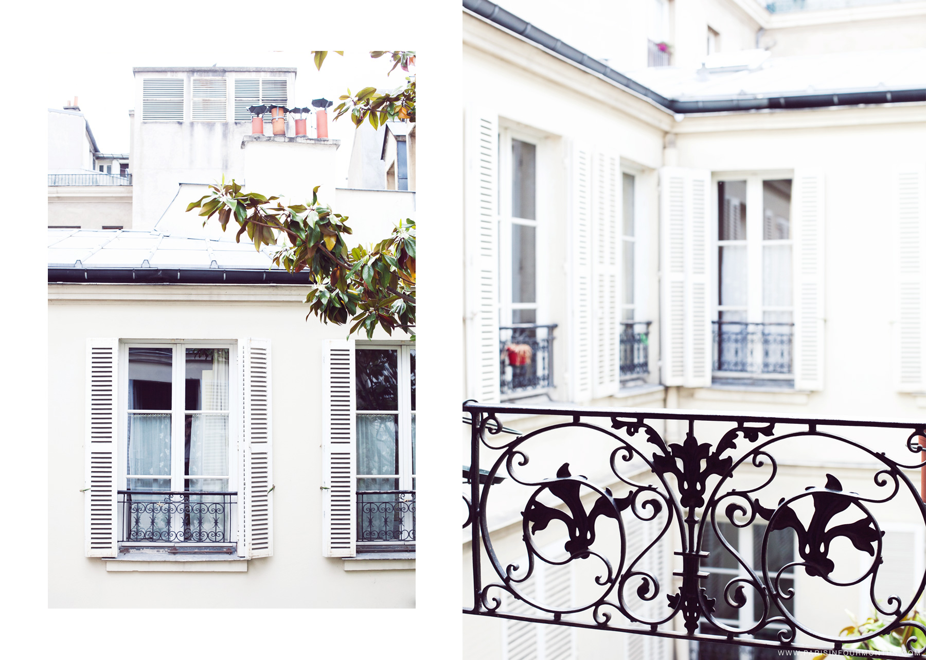 Parisian apartment by Carin Olsson (Paris in Four Months)