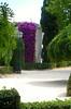 13 June 2014: Valencia, Spain gardens