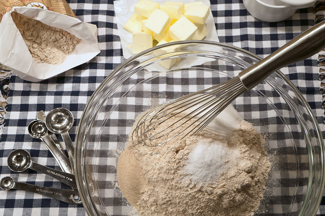 waffle dry ingredients