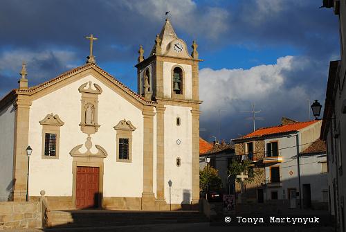 52 - провинция Португалии - маленькие города, посёлки, деревушки округа Каштелу Бранку