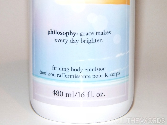 philosophy sunshine grace firming body emulsion  (2)