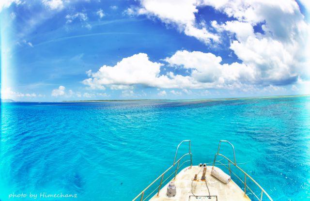 今日もスペシャルブルーな石垣島でした♪