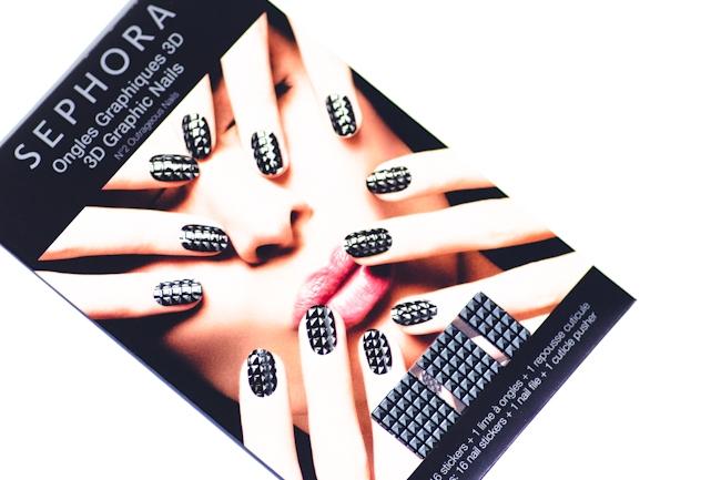 Pink Box Juni 2014, Inhalt Pink Box, Sephora Outrageous Nails 3D Graphic Nagelsticker, Nagelsticker