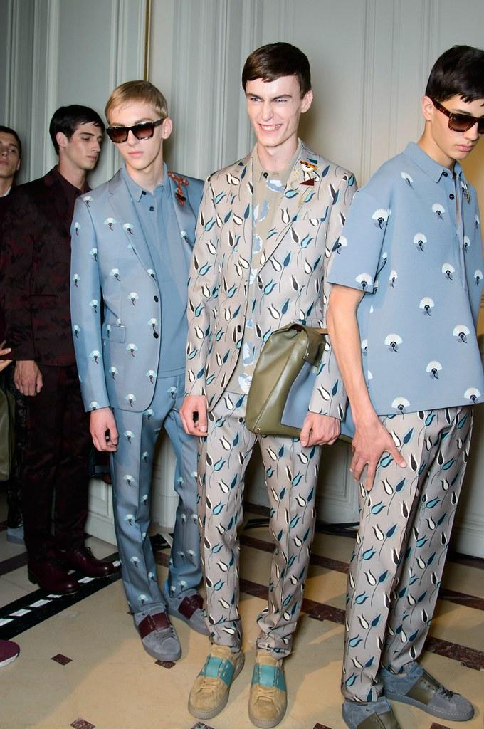 Dominik Sadoch3137_9_SS15 Paris Valentino_Ian Sharp, Jack Chambers, Lucas Santoni(fashionising.com)