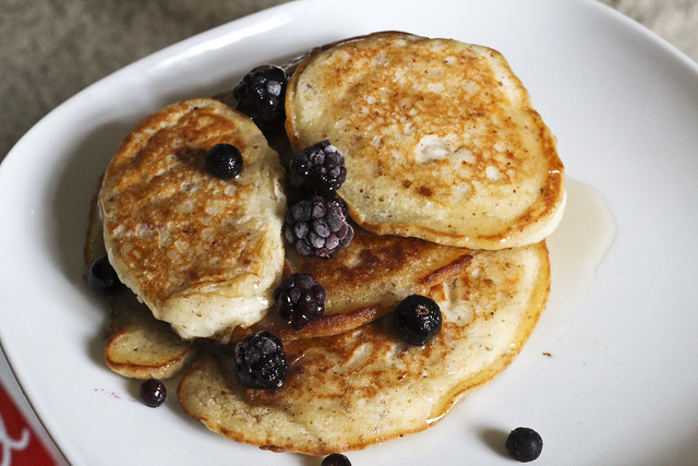Gluten Free Pancakes with Agave Nectar