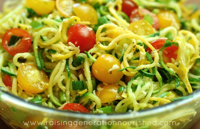 Real Food Summer Picnic Series :: Grain Free Pasta Salad