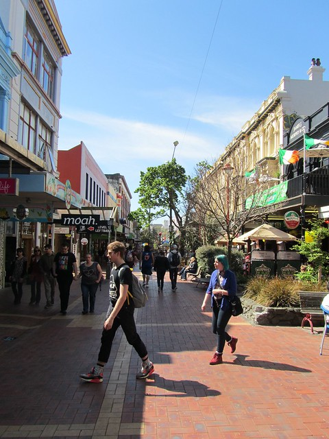 Cuba St at Wellington