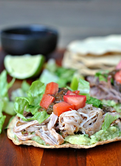 Avocado and Carnitas Tostadas 2