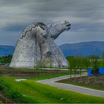 The Kelpies in HDR