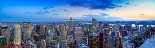 nyc sunset panorama newyork building state empire rockefeller ef 24105mml andrewthomas canon5dmk3