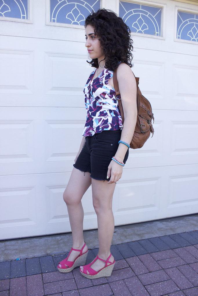 Zara,top,peplum,outfit